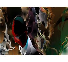 Abstract paintings of group of persons Photographic Print