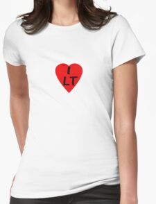 I Love Lithuania - Country Code LT T-Shirt & Sticker T-Shirt