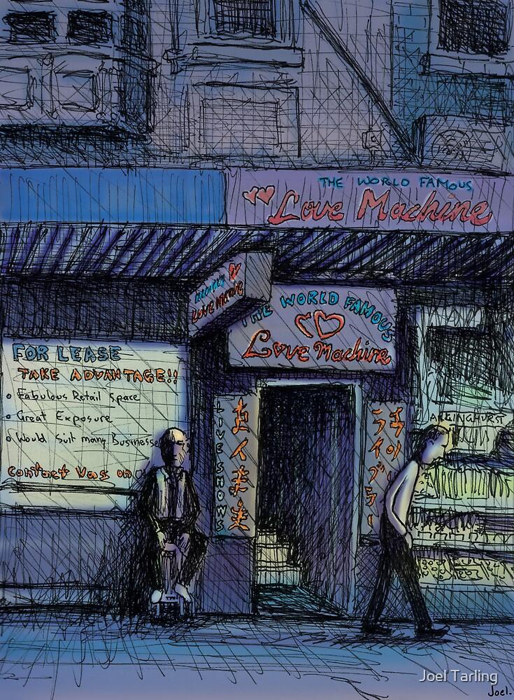World Famous Love Machine, Kings Cross by Joel Tarling