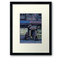 World Famous Love Machine, Kings Cross Framed Print