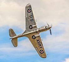 Curtiss P-40C 41-13357 G-CIIO by Colin Smedley