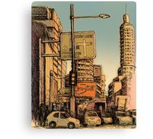 William Street, Kings Cross Canvas Print