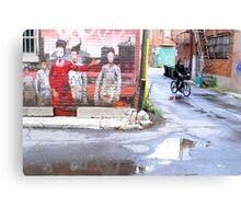 Montreal - Black hero Canvas Print