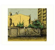 Lust for Life, Potts Point Art Print