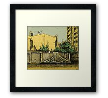 Lust for Life, Potts Point Framed Print