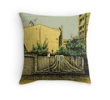 Lust for Life, Potts Point Throw Pillow