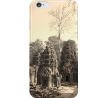 Ta Phrom Temple, Siem Reap iPhone Case/Skin