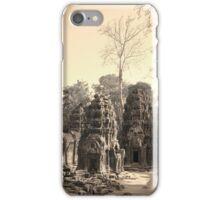 Ta Phrom Temple, Siem Reap iPhone Case/Skin