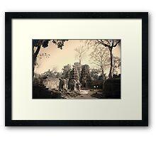 Ta Phrom Temple, Siem Reap Framed Print
