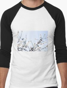 Beautiful Blossoms Men's Baseball ¾ T-Shirt