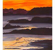 Sunset on Scotland Photographic Print