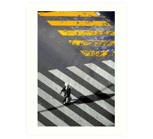 Paris - Crossing Art Print