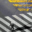 Paris - Crossing by Jean-Luc Rollier