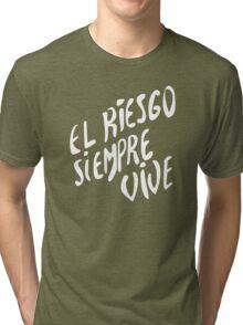 Vasquez's Chest plate motif Tri-blend T-Shirt