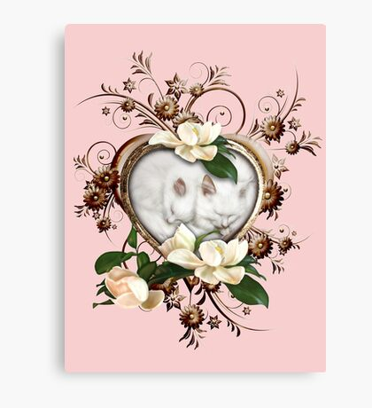 Love Kittens  Canvas Print
