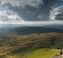 Halfway Up Pen-y-Ghent by Neal Petts