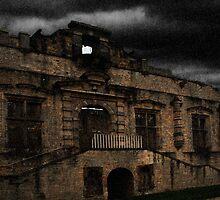 Bolsover Castle Ballroom in The Rain by Andy Smith