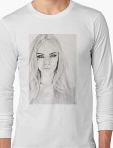 Portrait #3 Long Sleeve T-Shirt
