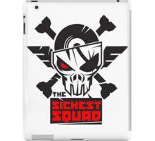 The Sickest Squad B&W Logo iPad Case/Skin
