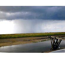 Storm at sea Photographic Print