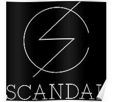 Scandal Band Poster