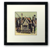 11 Reserve St, Annandale Framed Print