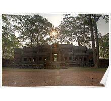 Angkor Wat East Gate, Siem Reap Poster