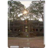 Angkor Wat East Gate, Siem Reap iPad Case/Skin
