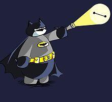 Batmax! Baymax Gotham City's Watchman by ArystaYC