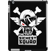 The Sickest Squad W&B Logo iPad Case/Skin