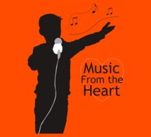 Music from the Heart Kids Clothes