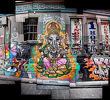 Scattered Ganesh by Mark Goodwin