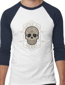 Mexican Riders Men's Baseball ¾ T-Shirt