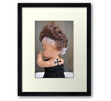 Helena's back Framed Print