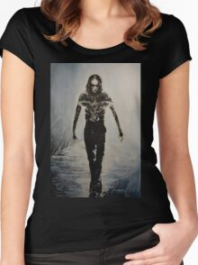 Eric Draven - The Crow Women's Fitted Scoop T-Shirt