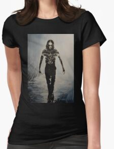 Eric Draven - The Crow Womens Fitted T-Shirt