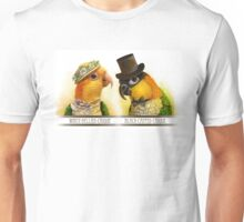 Mr & Mrs Caique Realistic Painting Unisex T-Shirt