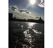 charles river, boston Photographic Print