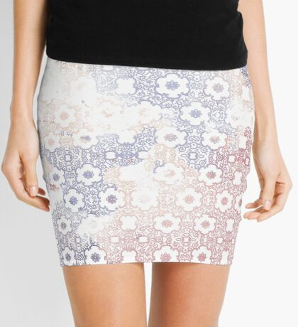 Pastel transparency Mini Skirt