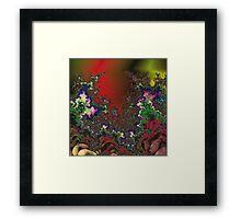Waves of Oblivion Framed Print