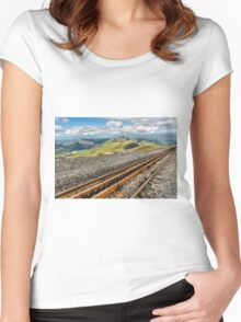 Snowdon Mountain Railway Women's Fitted Scoop T-Shirt