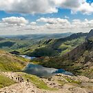 Snowdon Miners Path by Adrian Evans