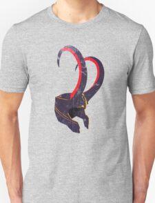 Grunge Vintage Loki's Helmet T-Shirt