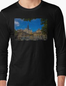 France. Paris. Sainte-Chapelle and Palace of Justice. Long Sleeve T-Shirt