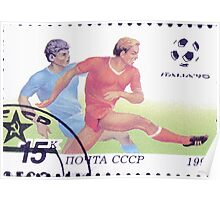 1990 FIFA World Cup stamps of the Soviet Union‎ 1990 CPA 6210 USSR Poster