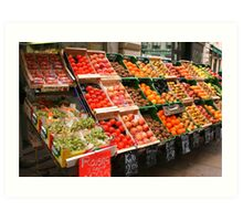 Produce in Abundance Art Print