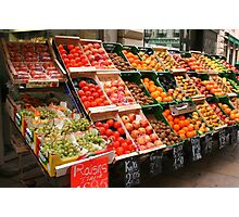 Produce in Abundance Photographic Print