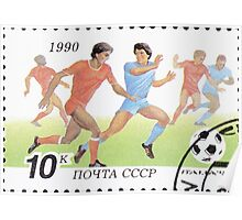 1990 FIFA World Cup stamps of the Soviet Union‎ 1990 CPA 6209 USSR Poster