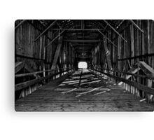 Honey Run covered bridge Chico California Canvas Print