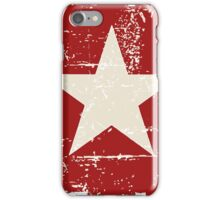 Vietnam Flag - Vintage Look iPhone Case/Skin